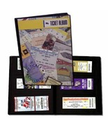 Sports Ticket Album Football Basketball Soccer 96 Tickets 32 pages New F... - $44.54