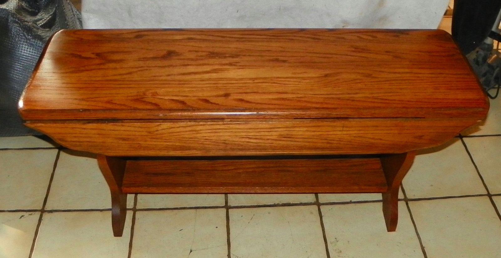 Oak Dropleaf Coffee Table - $399.00