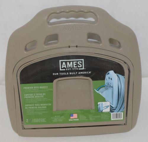 Ames 2382561 Premium Hose Hanger Holds 50 To 150 Feet Detachable Storage Bin