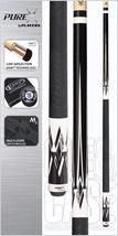 PureX HXT64 Midnight Black/White Divided Diamonds Technology Pool Cue  - $184.95