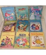 Little Golden Hardcover Children's Books Kids Disney Story, 9 books Lot - $16.83