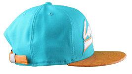 Leaders1354 Chicago New Era Varsity Teal/Orange Strapback Baseball Hat Cap Miami image 3
