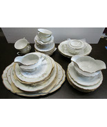 Arcadian Old Rose Place Setting for 4 Plus Extras Total 41 Pieces - $296.89