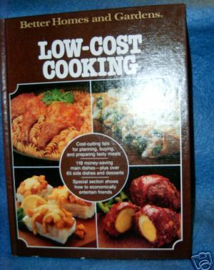 Better Homes and Gardens Low Cost Cooking