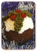 Y251 Crochet PATTERN ONLY Christmas Pudding Ornament Pattern - $8.50