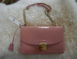 NWT 100% AUTH Marc Jacobs Pink Patent Leather Polly Bag $1150 - $791.01