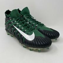 Nike Alpha Menace Elite Men's Size 14.5 Green Black NFL Football Rare - $59.35