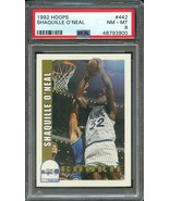1992 HOOPS #442 SHAQUILLE O'NEAL (RC) ROOKIE CARD- PSA 8 NM-MT - $19.75