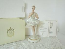 LENOX CHINA FIGURINE POISED PERFECTION BALLERINA COA BOXED - $84.15