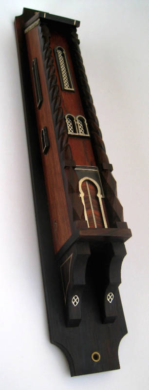 Hand-carved Mezuzah in the shape of a Large HOUSE