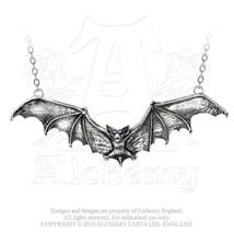 Gothic Bat Necklace by Alchemy Gothic - $34.60