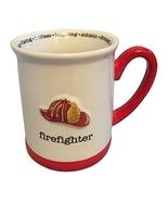 Encore Papel Giftware Firefighter Helmet Hat Coffee Mug Cup - $49.99