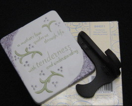 Precious Moments Tenderness A Mother's Love Plaque - $8.99