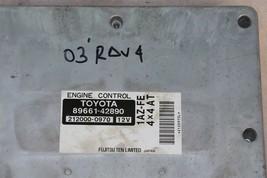 Toyota 1AZ-FE 4x4 A/T ECM ECU Engine Control Module 89661-42890, 212000-0970 image 2
