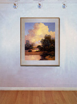 Thunderheads 22x30 Maxfield Parrish Art Deco Print Hand Numbered Ltd. Edition image 2