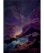 Moonlight-Parrish 22x30 Hand Numbered Ltd. Editi Maxfield Parrish Art De... - $64.33