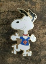 SNOOPY Grinning Super Hero Skates Souvenir Charlie Brown Lapel Hat Pin P... - $14.99