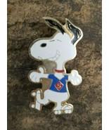 SNOOPY Grinning Super Hero Skates Souvenir Charlie Brown Lapel Hat Pin P... - $14.99