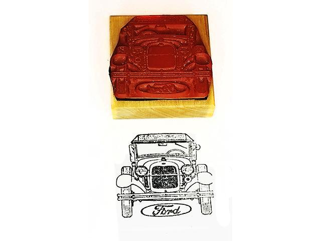 Collector Car Rubber Stamps Vintage Ford Automobile Rubber Stamp
