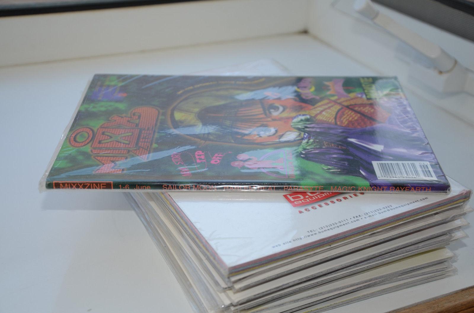 MixxZine comic manga 1 - 6 June 1998 Sailor Moon Parasyte Rayearth Harlem Beat image 2