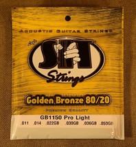 SIT Strings GB1150 Pro Light Acoustic Guitar Strings - $6.56