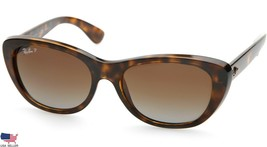 Ray Ban RB4227 710/T5 TORTOISE /BROWN LENS SUNGLASSES 55mm (DISPLAY MODE... - $89.09