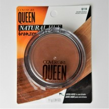 Covergirl Queen Collection Q110 Natural Hue Bronzer Brown Bronze - $13.99