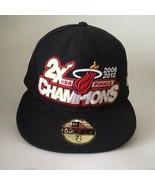 Miami Heat NBA Fitted Cap Hat Finals 2006/2012 Champions New Era NWT Siz... - $29.45