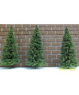 MINIATURE PINE TREES for doll house / model railroad / 30- O scale 5 INC... - $37.50