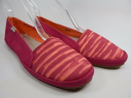 Sanuk Gore-Geous Magenta / Streifen Damen Freizeit Sandalen Schuhe Größe Us 7 M