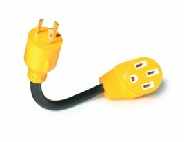 """Camco 55412 12"""" L5-30 30 AMP Plug to 14-50 50 AMP Receptacle PowerGrip G... - $35.89"""