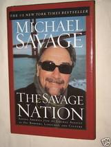 The Savage Nation by Michael Savage Hardcover 2002 Radio Talk Show Host ... - $9.74