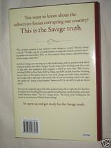 The Savage Nation by Michael Savage Hardcover 2002 Radio Talk Show Host Politics image 2
