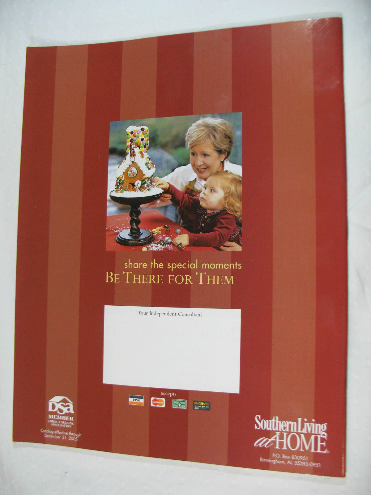 Southern Living At Home Fall 2005 Catalog Decorating Entertaining Organizing