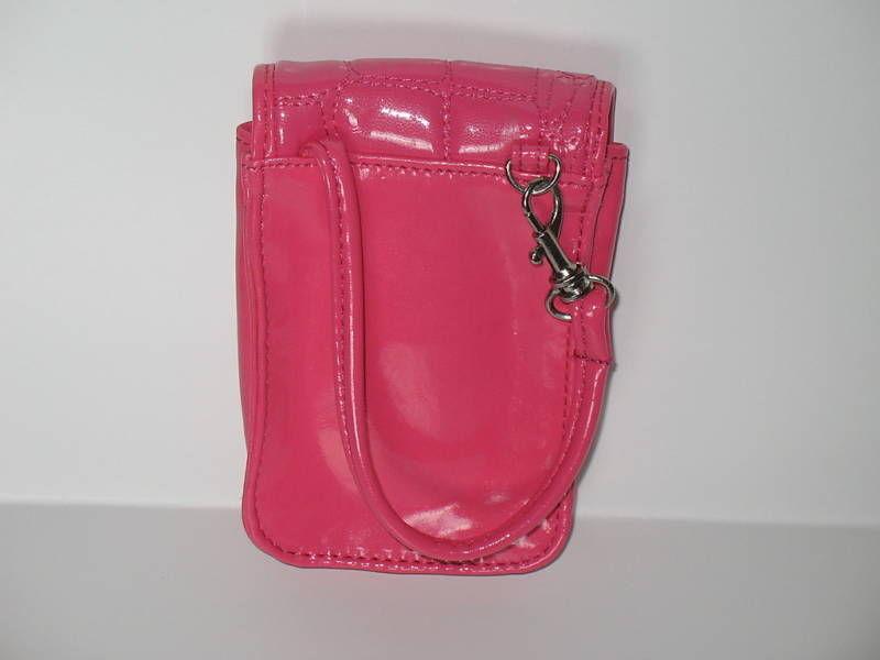 Puff Mini Purse Case New Pink Wristlet Bag Bubble Gum Color by Kristine