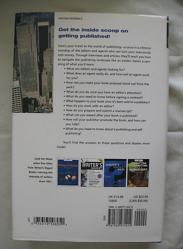 Agents, Editors and You, Getting Your Book Published Hardcover Writer's Digest image 2