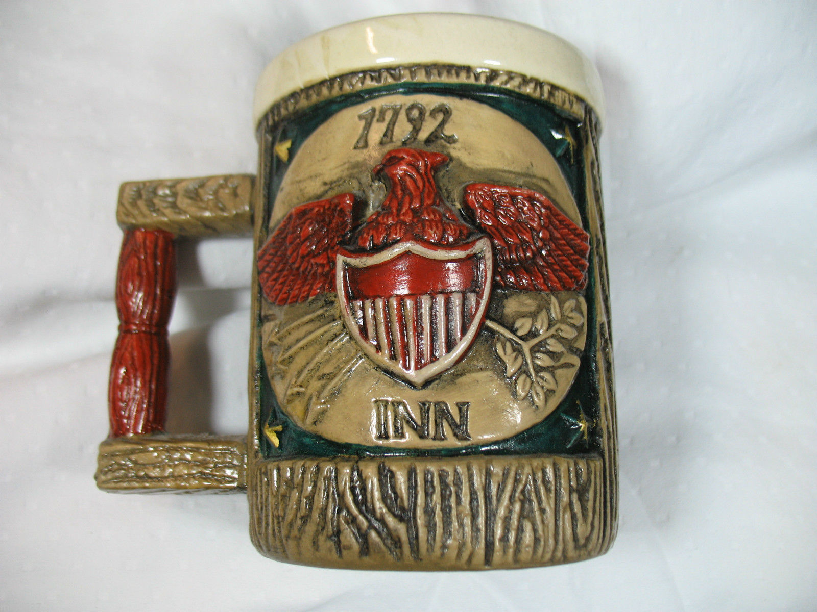 Napcoware 1792 Inn Coffee Mug National Pottery Number C6728 Ceramic Collectible