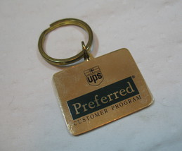 Super Bowl Key Chain XXXIII 33 Gold Tone UPS Preferred Customer Collectible image 2