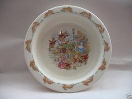 Royal Doulton Baby Youth Plate Bowl Bunnykins Albion English Fine Bone China image 3