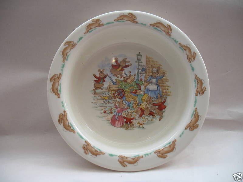 Royal Doulton Baby Youth Plate Bowl Bunnykins Albion English Fine Bone China