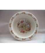 Royal Doulton Baby Youth Plate Bowl Bunnykins Albion English Fine Bone C... - $24.18