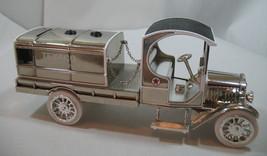 Ertl 1919 Texaco GMC Tanker Truck Special Chrome Millennium Edition Die Cast image 2