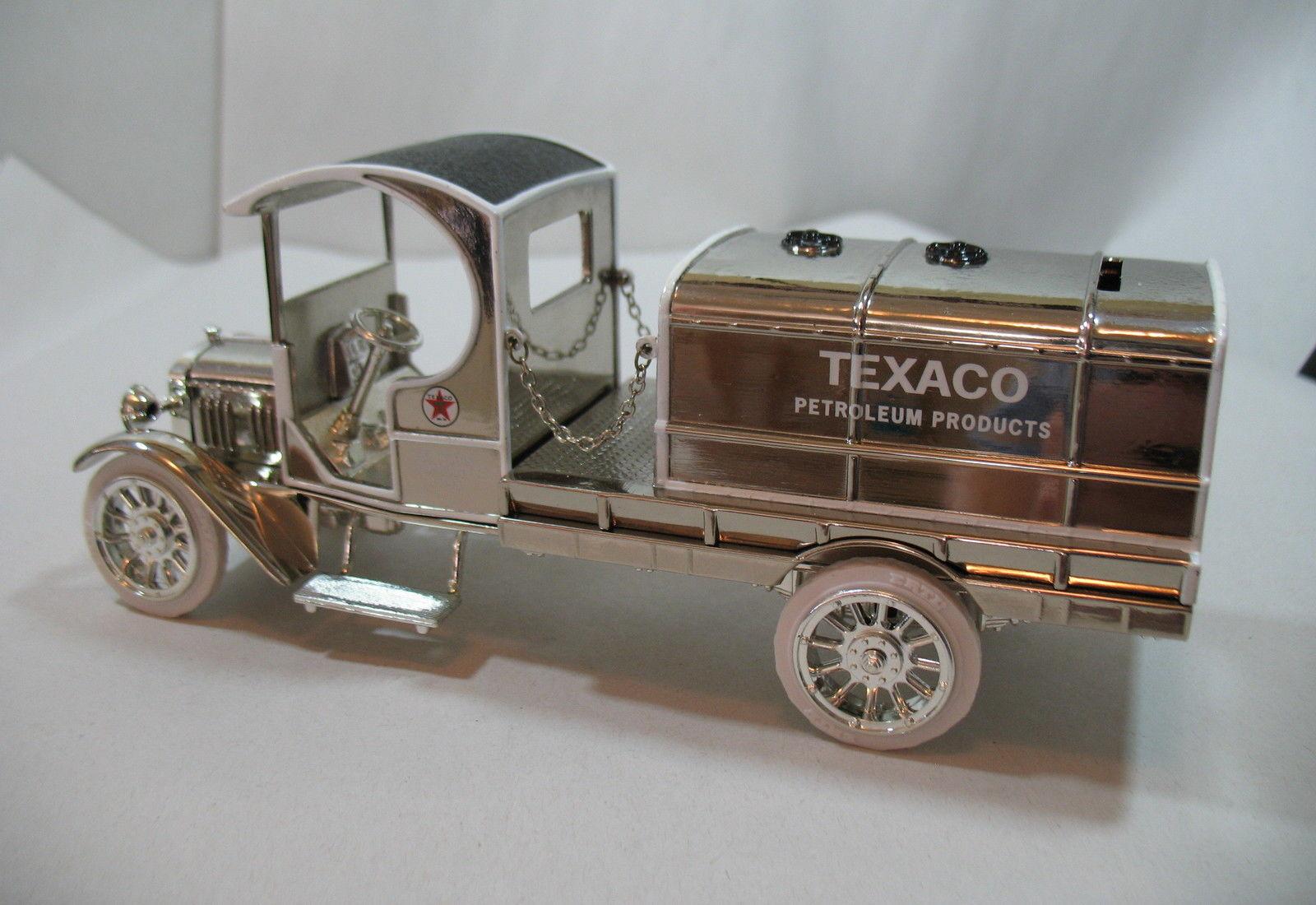 Ertl 1919 Texaco GMC Tanker Truck Special Chrome Millennium Edition Die Cast