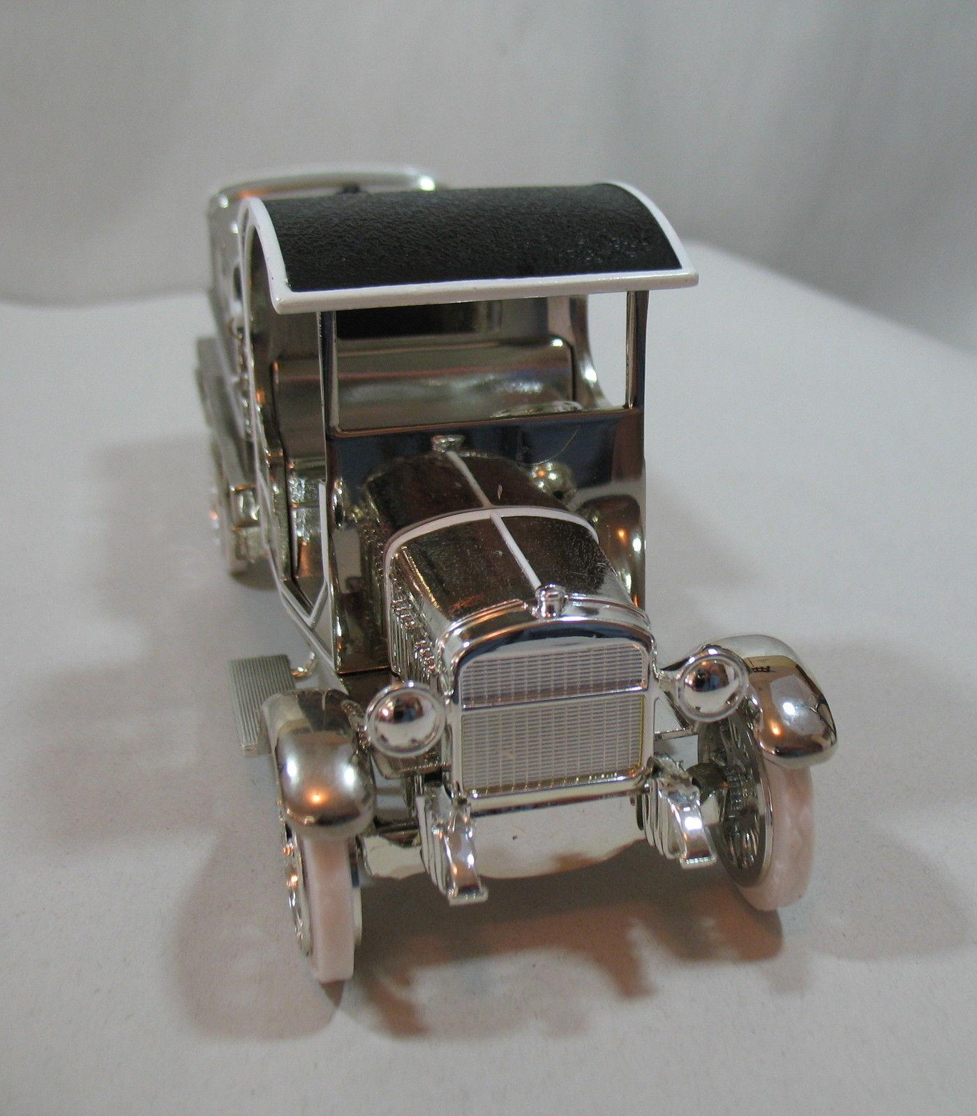 Ertl 1919 Texaco GMC Tanker Truck Special Chrome Millennium Edition Die Cast image 3