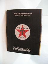 Ertl 1919 Texaco GMC Tanker Truck Special Chrome Millennium Edition Die Cast image 6
