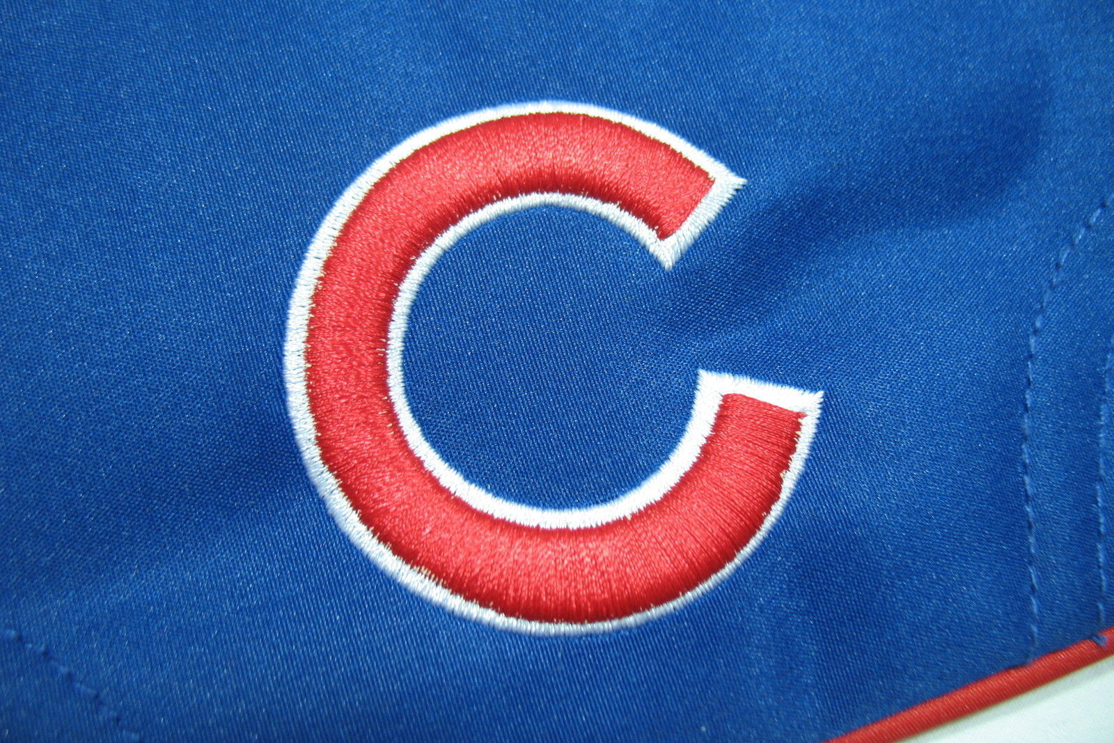 Chicago Cubs Wristlet New Pro-Fan-Ity by Littlearth Red White Blue Logo Zip Top