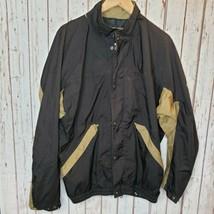 Footjoy Dryjoys Mens Windbreaker Zip Up Jacket Size Large Waterproof Golf  - $15.84