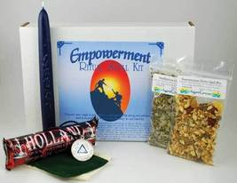 Empowerment boxed ritual spell kit with instructions - $23.99