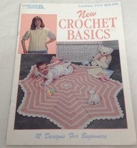 New Crochet Basics (Leisure Arts #777), 1989 - $5.93