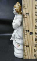 Vintage Made In Occupied Japan Hand Painted Victorian Couple Figurines Colonial image 4